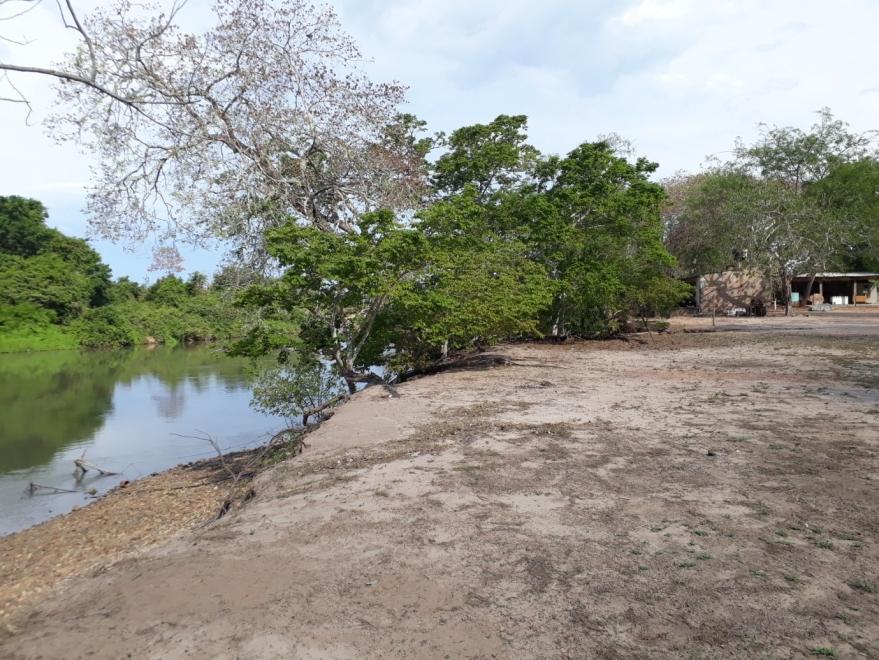 De uso cotidiano da comunidade, o rio Jauru foi fortemente afetado pelas hidrelétricas. Foto: Fórum Mato-grossense de Meio Ambiente e Desenvolvimento